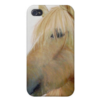 Fineart Horse Hard Phone case Case For iPhone 4