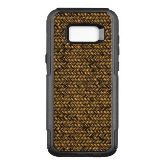 Finely Hand Woven Brown Basketry OtterBox Commuter Samsung Galaxy S8+ Case