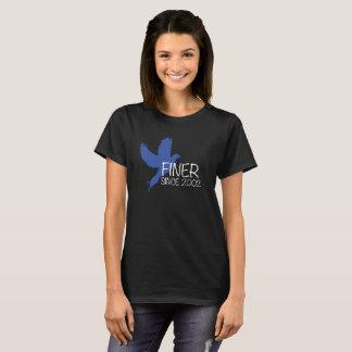 Finer Since 2002 Zeta Phi Beta Shirt