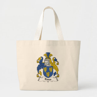 Fines Family Crest Canvas Bags