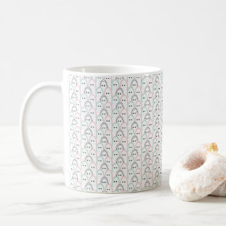 """Finger"" figures modern pattern Coffee Mug"