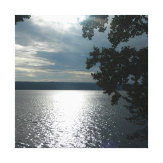 FINGER LAKES, CAYUGA LAKE canvas Stretched Canvas Print