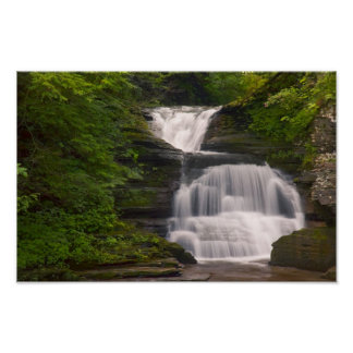 Finger Lakes Waterfall  Print