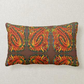 Finger Painting - Cookie Lumbar Pillow