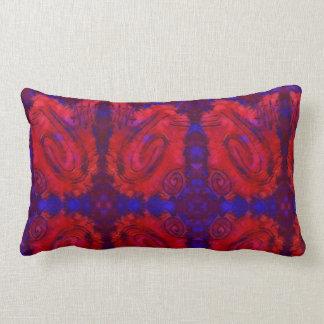 Finger Painting - Crime Scene Lumbar Pillow
