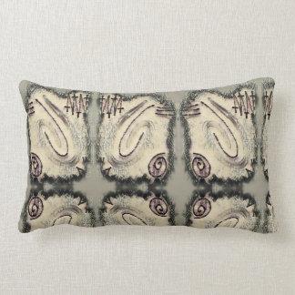 Finger Painting - Japan Lumbar Pillow