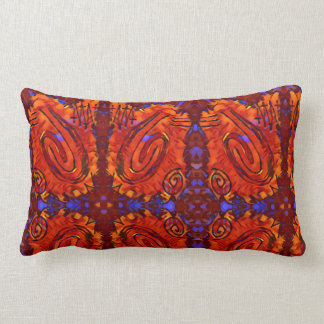 Finger Painting  - Pepper Lumbar Pillow