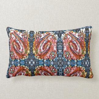 Finger Painting - Surrounded Lumbar Pillow