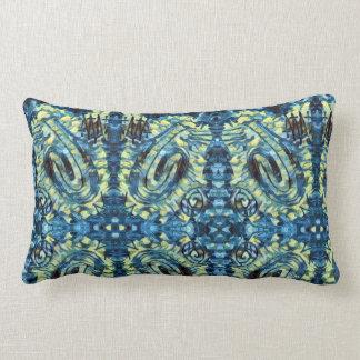 Finger Painting - Van Gogh Lumbar Pillow