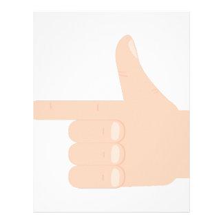 Finger Point Letterhead