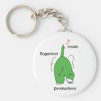 Fingerfoot Elephant Keychain