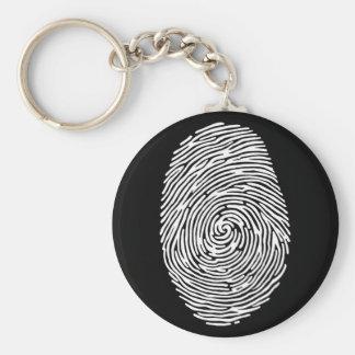 fingerprint4 basic round button keychain