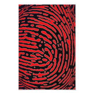 Fingerprint Bubble Art Photo