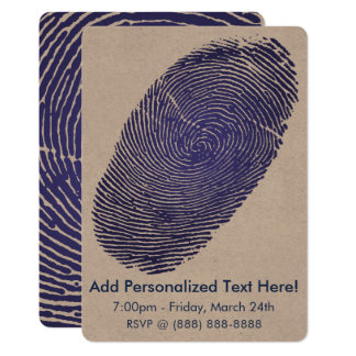 Fingerprint Graphic Card