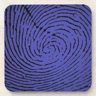Fingerprint Graphic Coaster