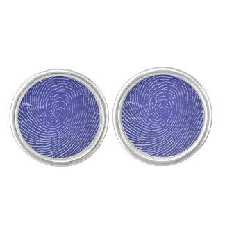 Fingerprint Graphic Cufflinks