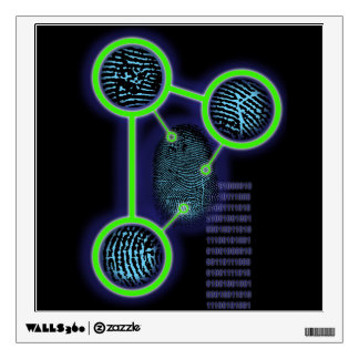 Fingerprint Identification Wall Decal