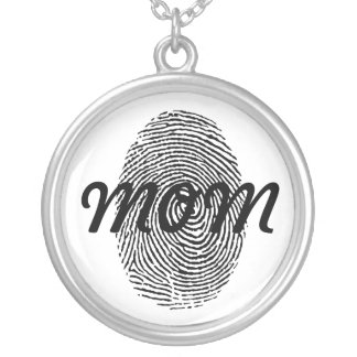 Fingerprint Keepsake Pendant
