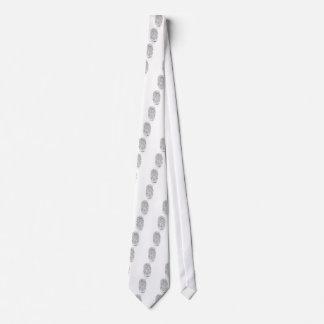 Fingerprinted Tie
