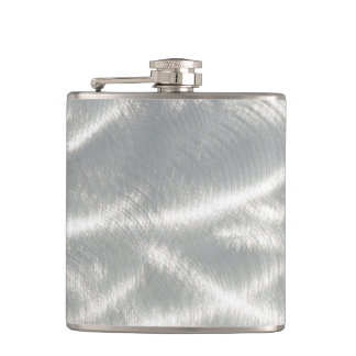 Finished Metal Look Flask