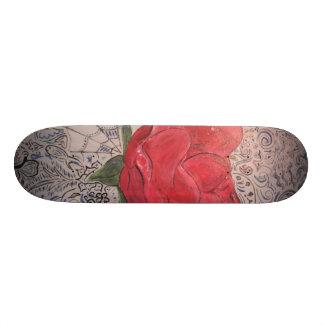finished rose skate board decks