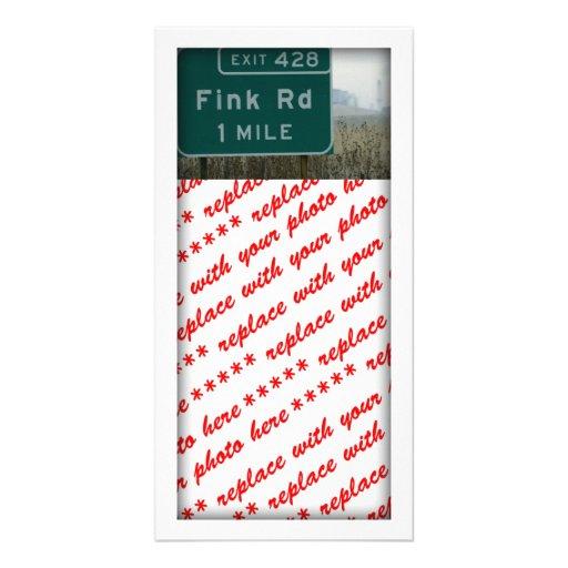 Fink rd, Crows Landing, CA Custom Photo Card