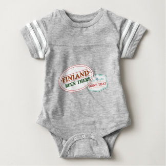 Finland Been There Done That Baby Bodysuit