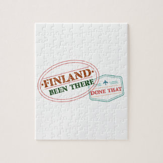 Finland Been There Done That Jigsaw Puzzle