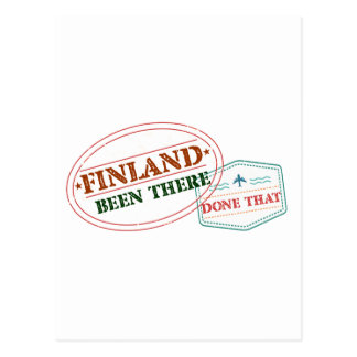 Finland Been There Done That Postcard