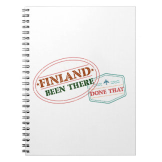 Finland Been There Done That Spiral Notebook