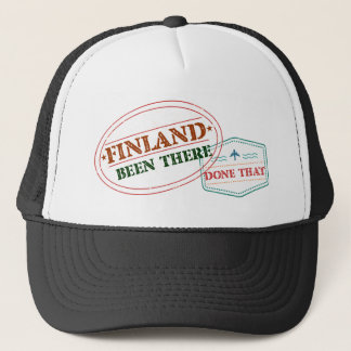 Finland Been There Done That Trucker Hat