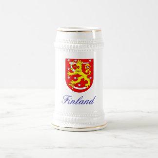 FINLAND BEER STEIN