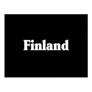 Finland Classic Style Postcard