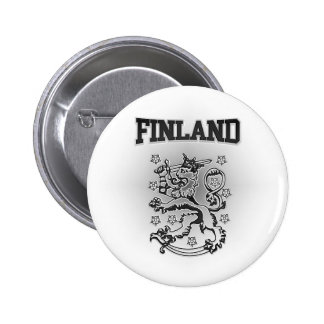 Finland Coat of Arms 2 Inch Round Button