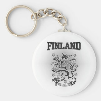 Finland Coat of Arms Keychain