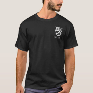 FInland Coat of Arms Lion Pocket Design T-Shirt