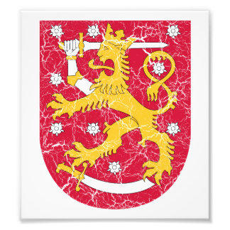 Finland Coat Of Arms Photo Print