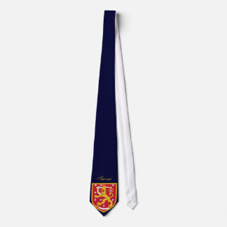 Finland Coat of Arms Tie