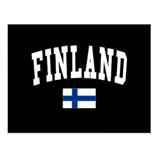 Finland College Style Postcard