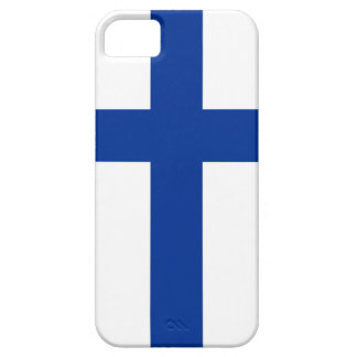 finland country flag long symbol iPhone 5 case