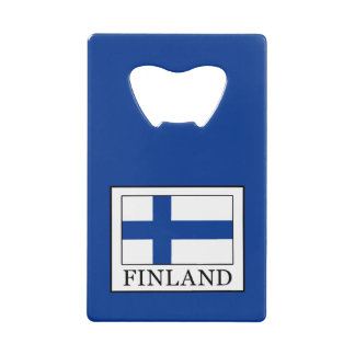 Finland Credit Card Bottle Opener