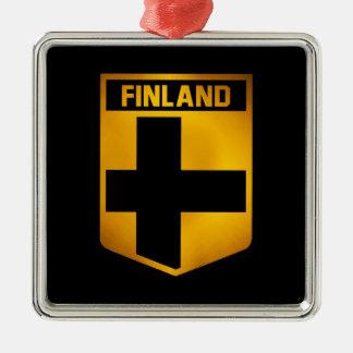 Finland Emblem Metal Ornament