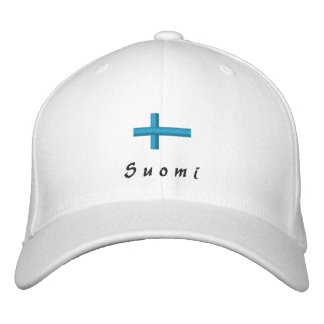 Finland Embroidered hat