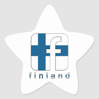 Finland Facebook Logo Unique Awesome Popular Star Sticker