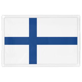 Finland Flag Acrylic Tray