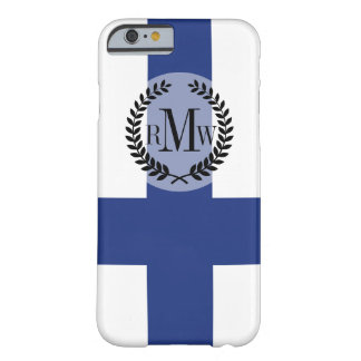 Finland Flag Barely There iPhone 6 Case