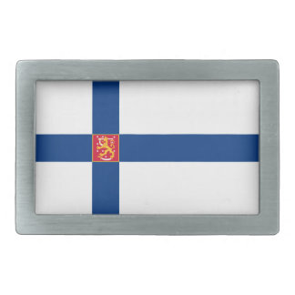 Finland Flag Belt Buckle