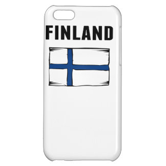 Finland Flag Cover For iPhone 5C