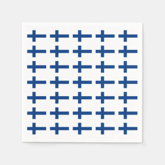 Finland Flag Disposable Napkins