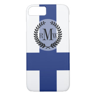 Finland Flag iPhone 7 Case